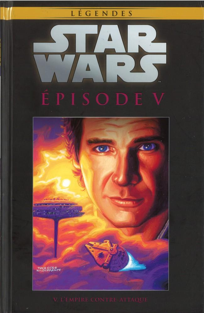 Couverture de Star Wars - Légendes - La Collection (Hachette) -4458- Episode V. L'Empire Contre-Attaque