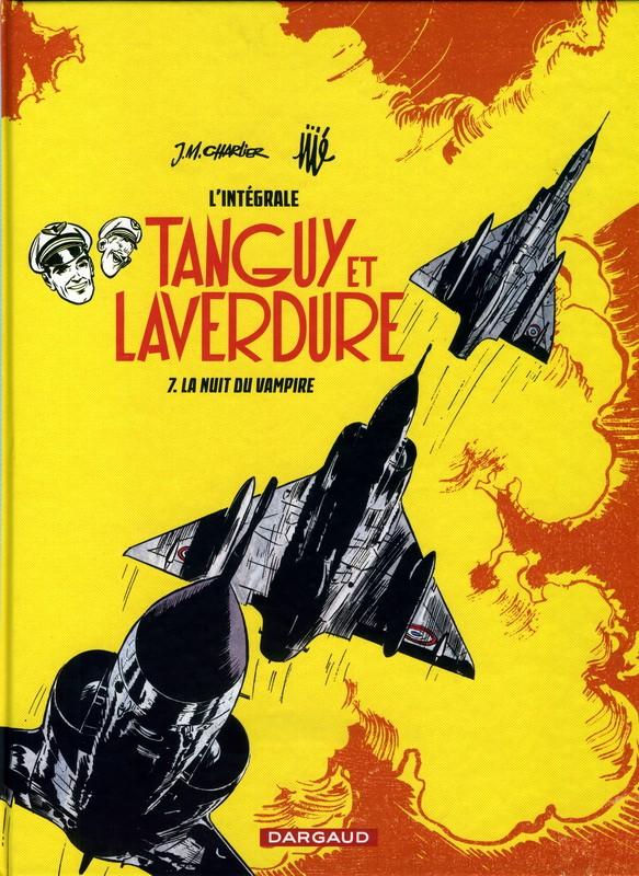 Couverture de Tanguy et Laverdure (intégrale 2015) -7- La Nuit du Vampire