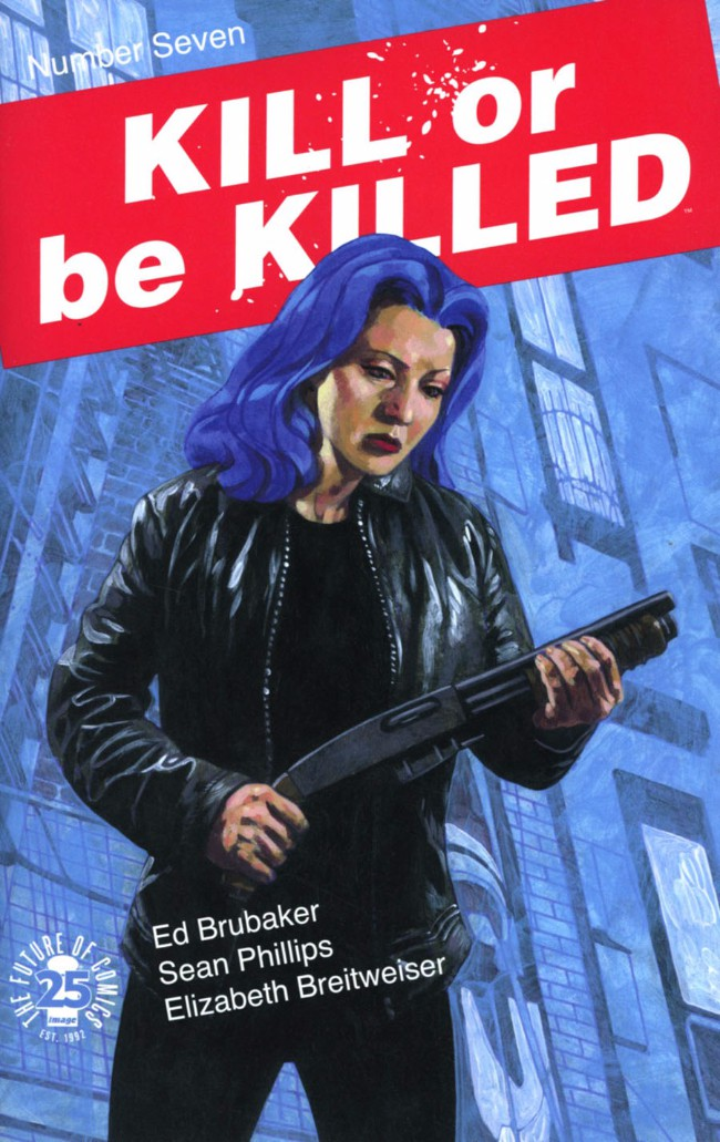 Couverture de Kill or be Killed (2016) -7- Number Seven