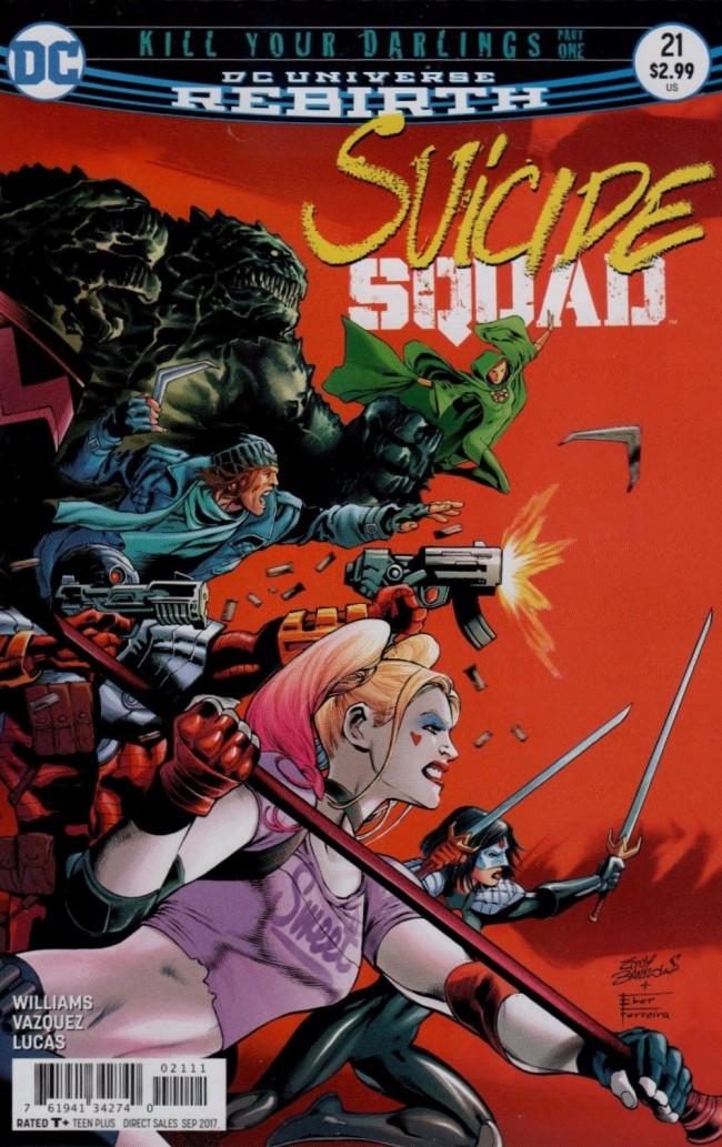 Couverture de Suicide Squad (2016) -21- Kill Your Darlings, Part One