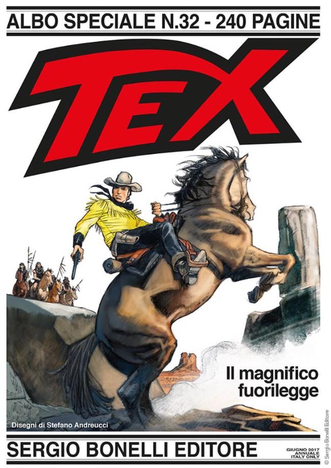 Couverture de Tex (Albo speciale) -32- Il magnifico fuorilegge
