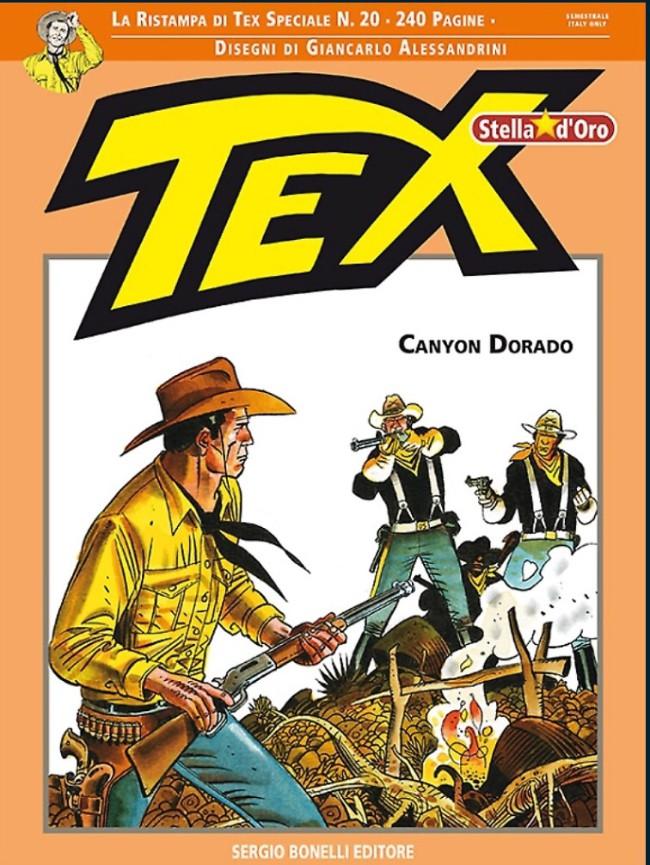 Couverture de Tex (Stella d'oro) -20- Canyon dorado
