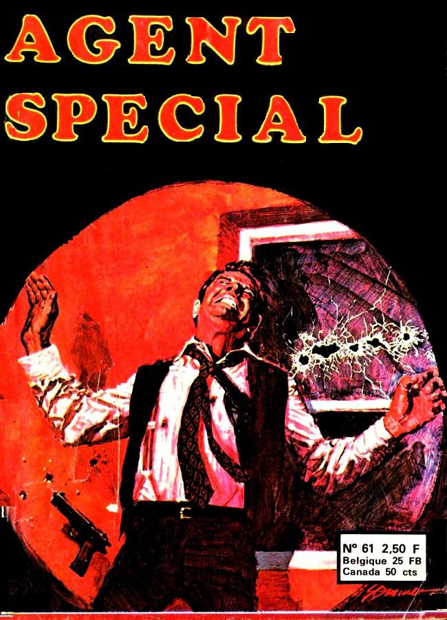 Couverture de Agent spécial (Edi-Europ) -61- Un agent très spécial