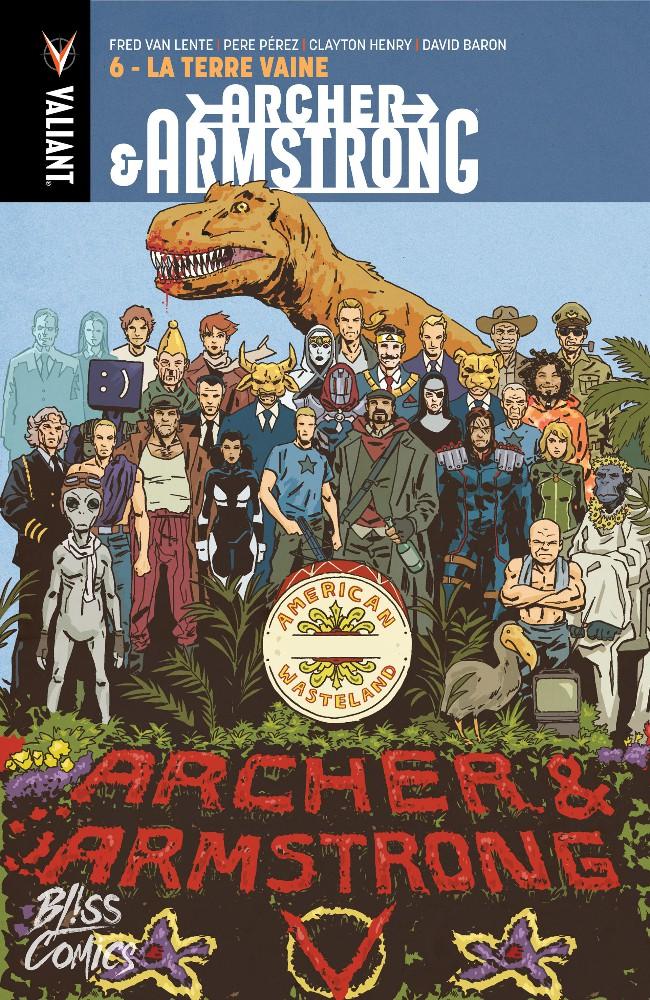 Couverture de Archer & Armstrong -6- La terre vaine