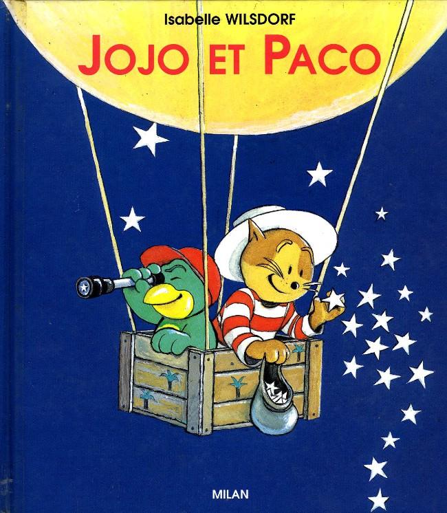 Couverture de Jojo et Paco (Les aventures friponnes de) -1a- jojo et paco