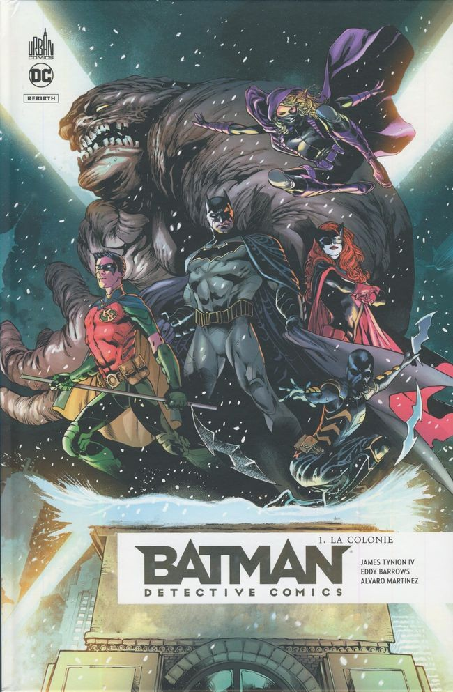 Couverture de Batman : Detective Comics -1- La Colonie