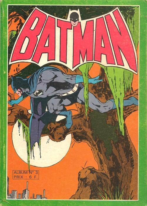 Couverture de Batman Géant (Sagédition - 1re série) -Rec03- Album N°3 (du n°7 au n°9)