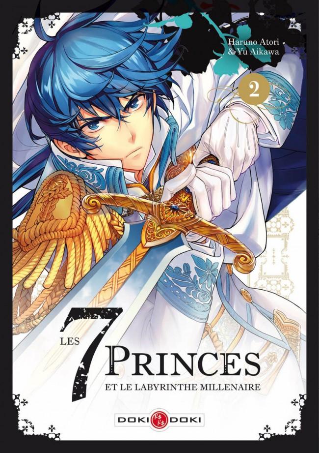 Couverture de 7 princes et le labyrinthe millénaire (les) -2- Tome 2