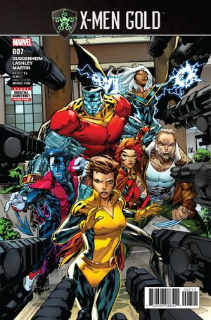 Couverture de X-Men Gold (2017) -7- Secret Empire: Part 1