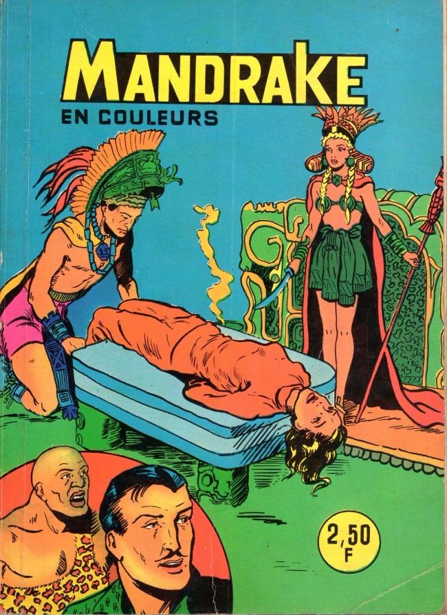 Couverture de Mandrake (1re Série - Remparts) (Mondes Mystérieux - 1) -HS02- Recueil HS2 (07, 08, 09, 10, 11, 12)