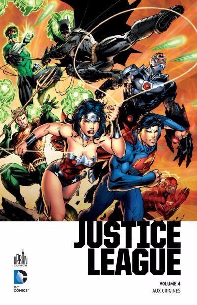 Couverture de Batman (Urban Premium) -4- Justice League - Aux origines