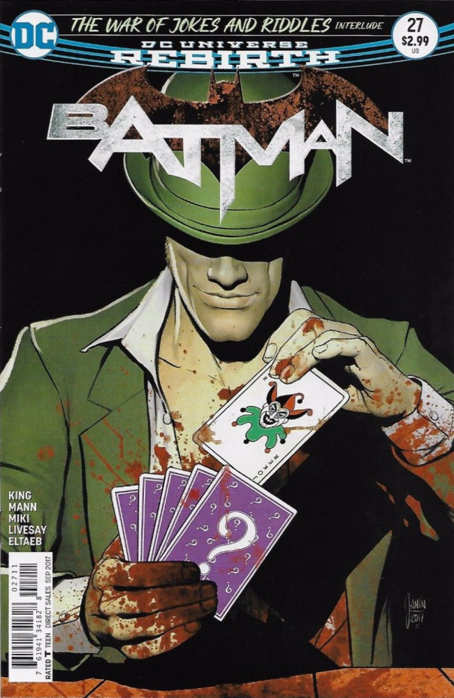Couverture de Batman (2016) -27- The Ballad of Kite Man, Part One