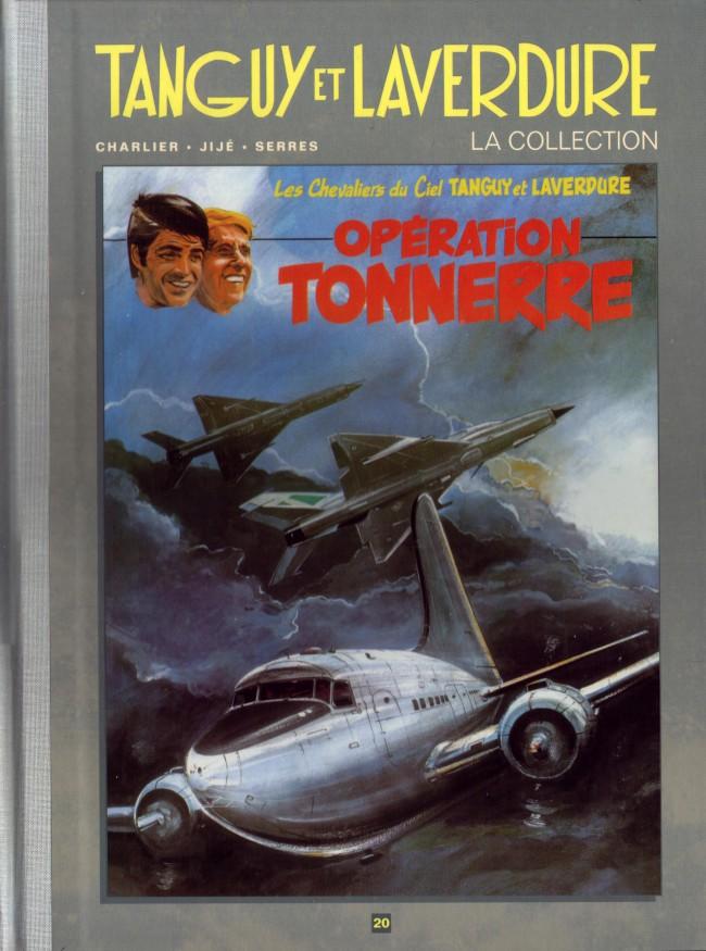 Couverture de Tanguy et Laverdure - La Collection (Hachette) -20- Opération Tonnerre