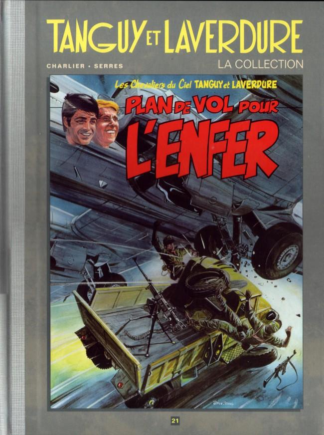 Couverture de Tanguy et Laverdure - La Collection (Hachette) -21- Plan de vol pour l'enfer
