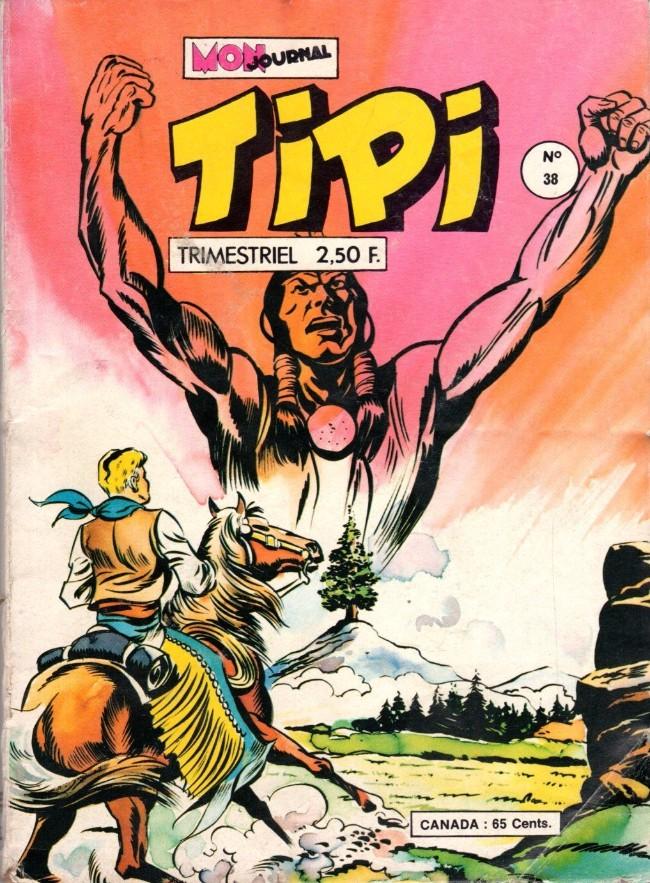 Couverture de Tipi -38- Totanka : Le grand conseil