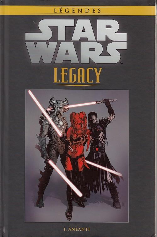 Couverture de Star Wars - Légendes - La Collection (Hachette) -4585- Star Wars Legacy - I. Anéanti