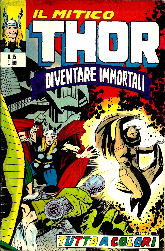 Couverture de MiticoThor (Il) -35- Diventare Immortali