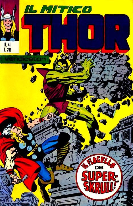 Couverture de MiticoThor (Il) -41- Il Flagello del Super-Skrull !