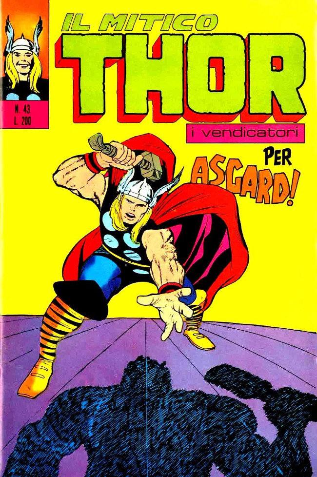 Couverture de MiticoThor (Il) -43- Per Asgard !