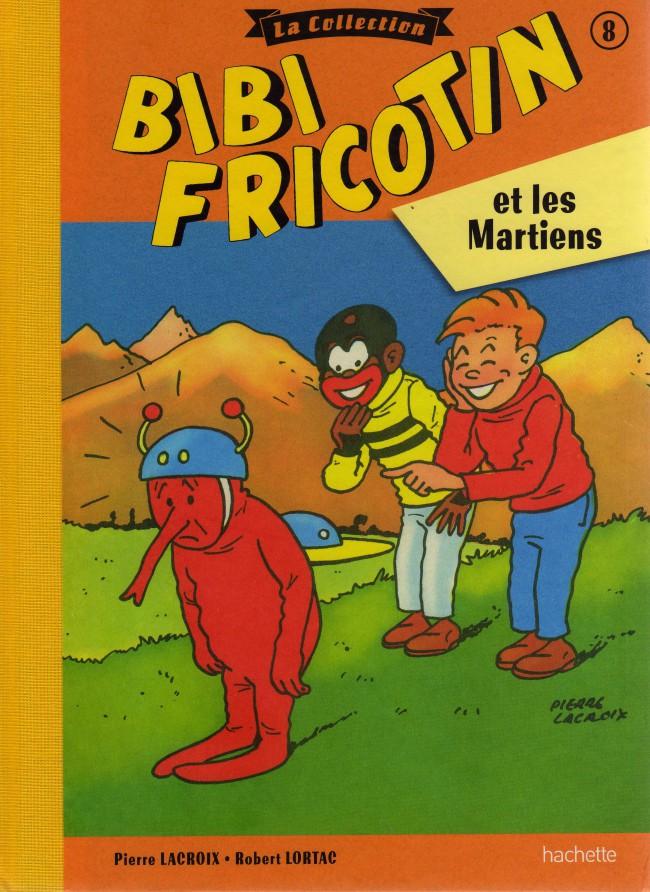 Couverture de Bibi Fricotin (Hachette - la collection) -8- Bibi Fricotin et les martiens