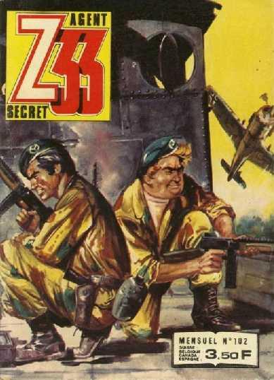 Couverture de Z33 agent secret -102- L'épée de Siegfried