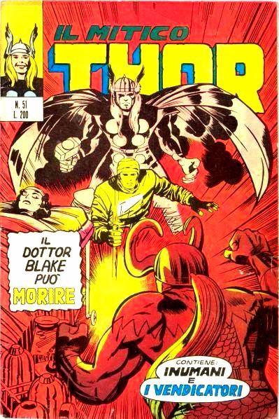 Couverture de MiticoThor (Il) -51- Il Dottor Blake può Morire