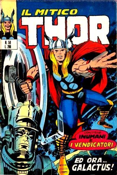 Couverture de MiticoThor (Il) -59- Ed ora Galactus !