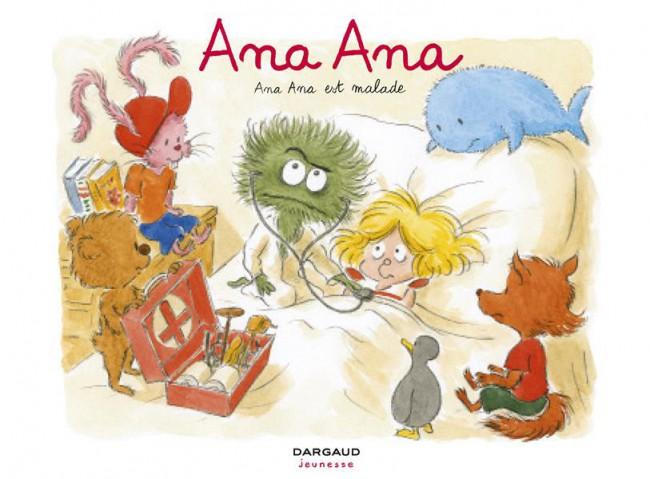Couverture de Ana Ana -10- Ana Ana est malade