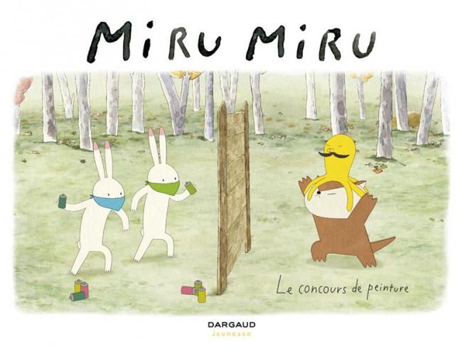 Couverture de Miru Miru -6- Le concours de peinture