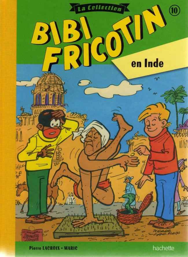 Couverture de Bibi Fricotin (Hachette - la collection) -10- Bibi Fricotin en Inde
