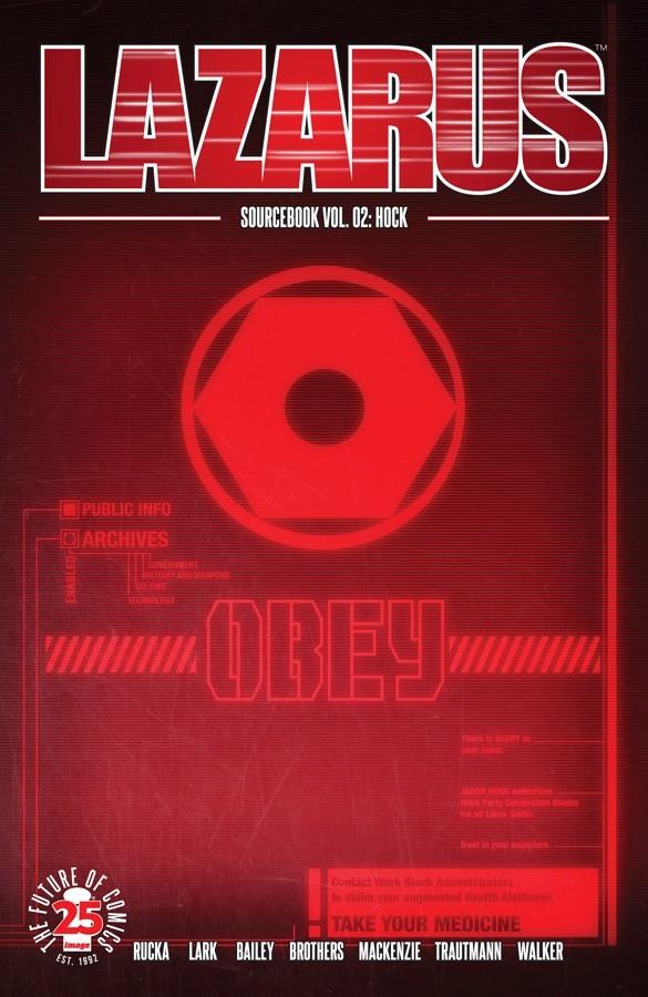 Couverture de Lazarus (2013) -HS2- Sourcebook Vol.2: Hock