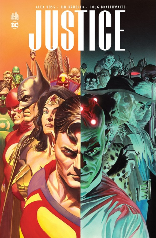 JLA : Justice - Intégrale 4 Tomes