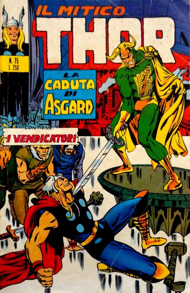 Couverture de MiticoThor (Il) -75- La Caduta di Asgard