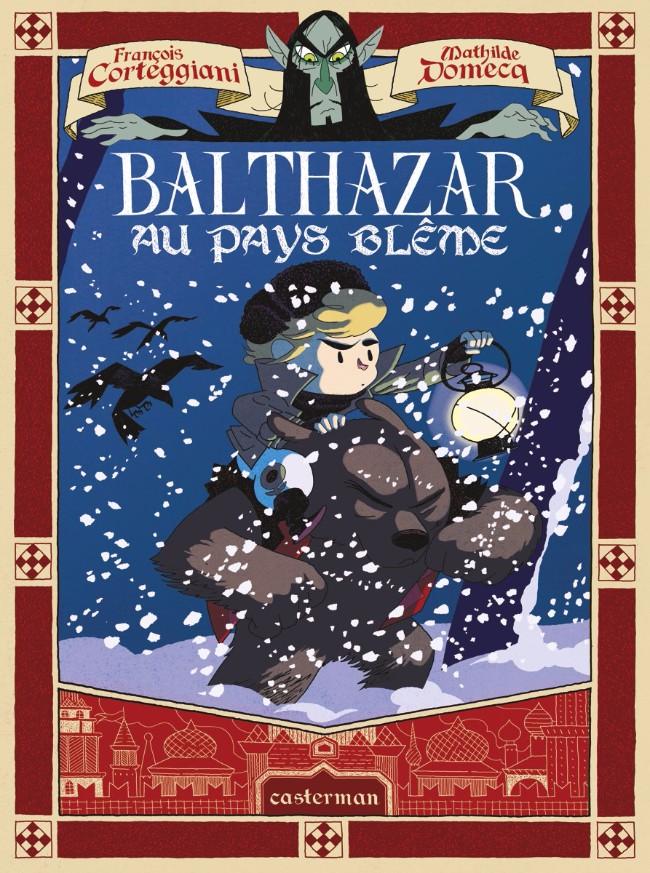 Couverture de Balthazar au pays blême