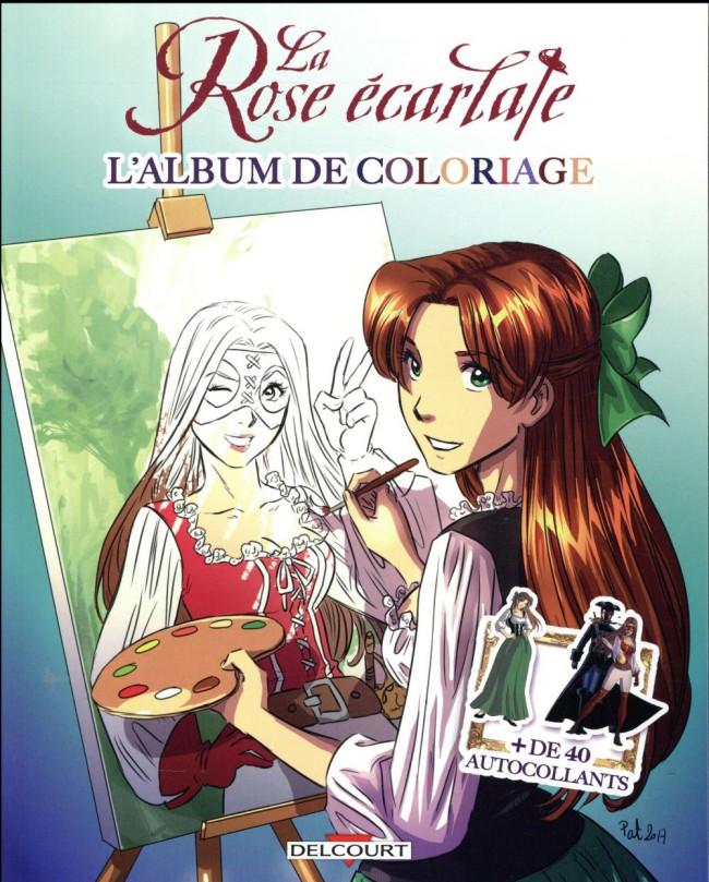Couverture de La rose écarlate -LJ1- Album de coloriage