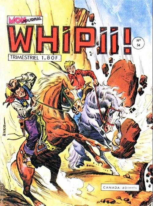 Couverture de Whipii ! (Panter Black, Whipee ! puis) -54- Konan JOE : Fusil-parti-tout-seul