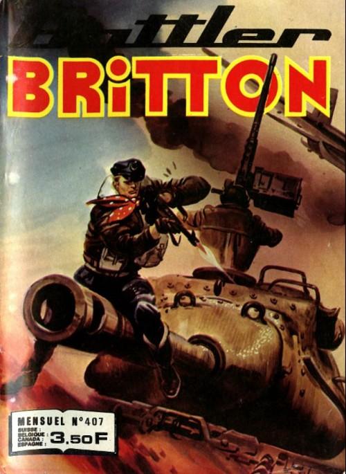 Couverture de Battler Britton -407- Comédie en 2 actes