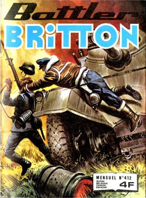 Couverture de Battler Britton (Imperia) -412- Le déserteur