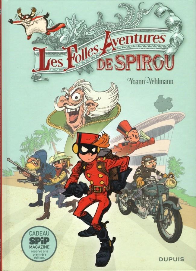 Couverture de Spirou et Fantasio -HS05- Les Folles Aventures de Spirou