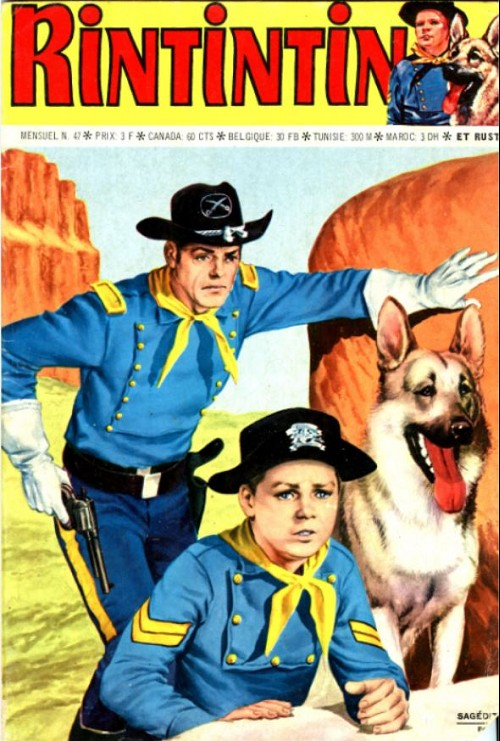 Couverture de Rin Tin Tin & Rusty (2e série) -47- Le prix du déshonneur
