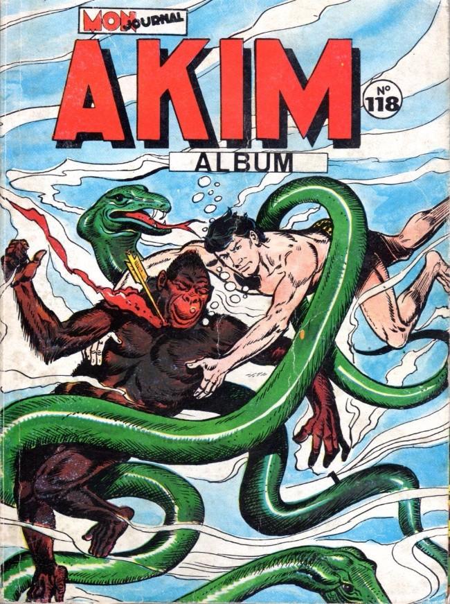 Couverture de Akim (1re série) -Rec118- Album N°118 (du n°593 au n°596)