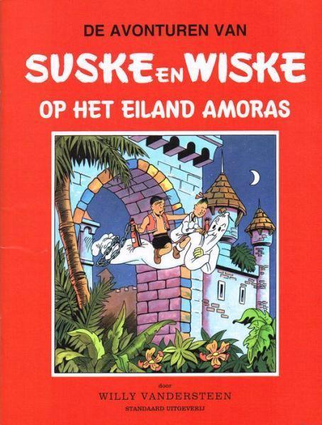 Couverture de Suske en Wiske -1- Op het eiland Amoras