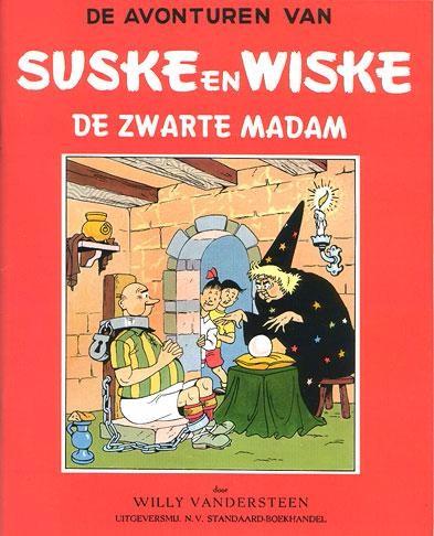 Couverture de Suske en Wiske -6- De zwarte madam