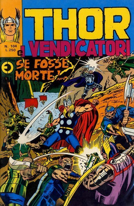 Couverture de MiticoThor (Il) -104- Se fosse Morte !...