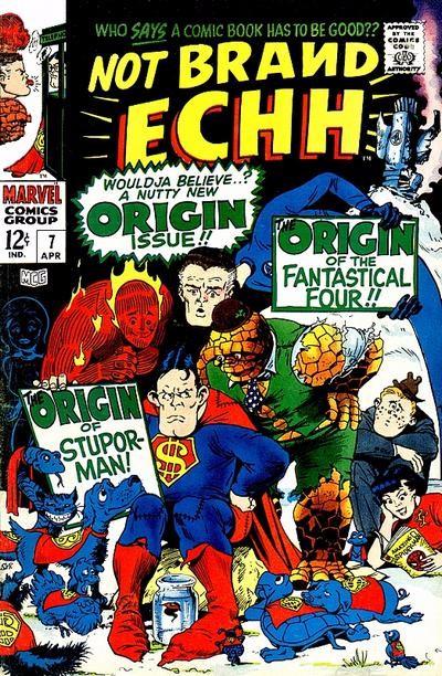 Couverture de Not Brand Echh (1967) -7- Numéro 7