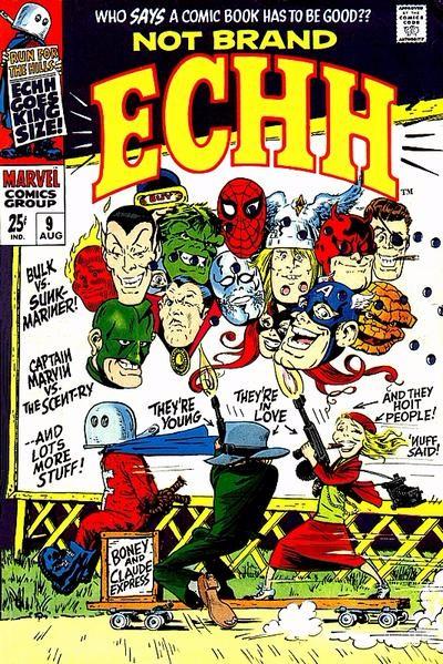 Couverture de Not Brand Echh (1967) -9- Numéro 9