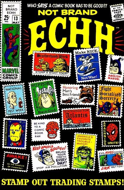Couverture de Not Brand Echh (1967) -13- Stamp out trading stamps !