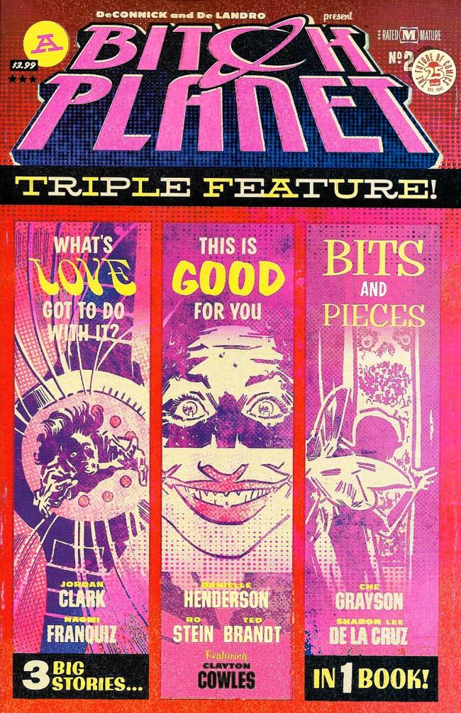 Couverture de Bitch Planet: Triple Feature (2017) -2- Bitch Planet: Triple Feature