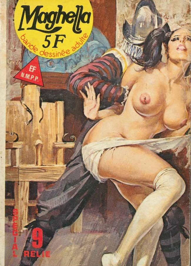 Couverture de Maghella -Rec09- Spécial Relié N°9 (du n°30 au n°32)