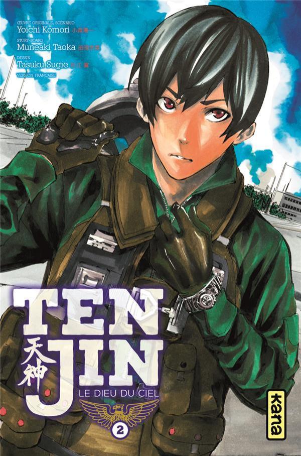 Couverture de Tenjin -2- Tome 2
